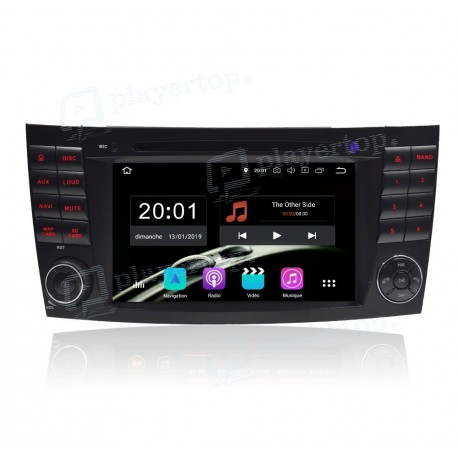Autoradio DVD GPS Android 9.0 Mercedes Benz Classe E W211 (2002-2009)