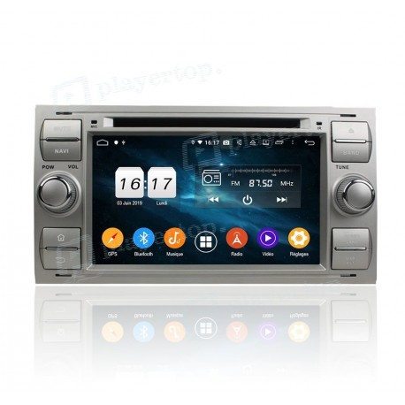 Autoradio DVD GPS Android 9.0 Ford Fiesta (2005-2008)