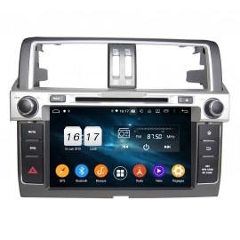 Autoradio Android 9.0 Toyota Prado 2014