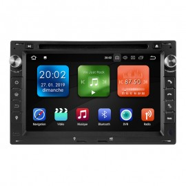 Autoradio GPS Android 9.0 VW Golf 4