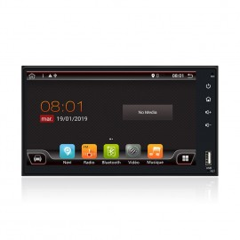 Autoradio GPS 2 DIN Universel Android 10.1