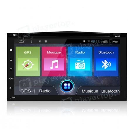 Autoradio 2 DIN GPS Android 8.1