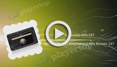 Video Autoradio Alfa 147 Player Top