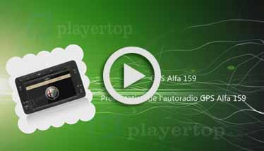 Video GPS Alfa 159 Player Top