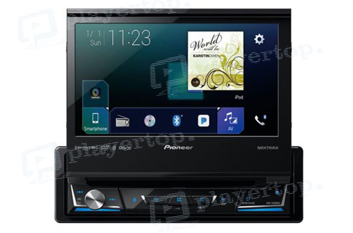 l utilit de l autoradio en 2 din gps pioneer. Black Bedroom Furniture Sets. Home Design Ideas