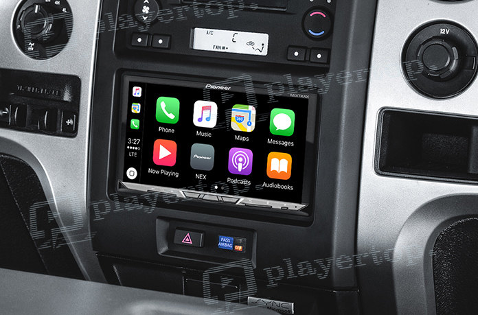 autoradio pioneer bluetooth avec carplay et android. Black Bedroom Furniture Sets. Home Design Ideas