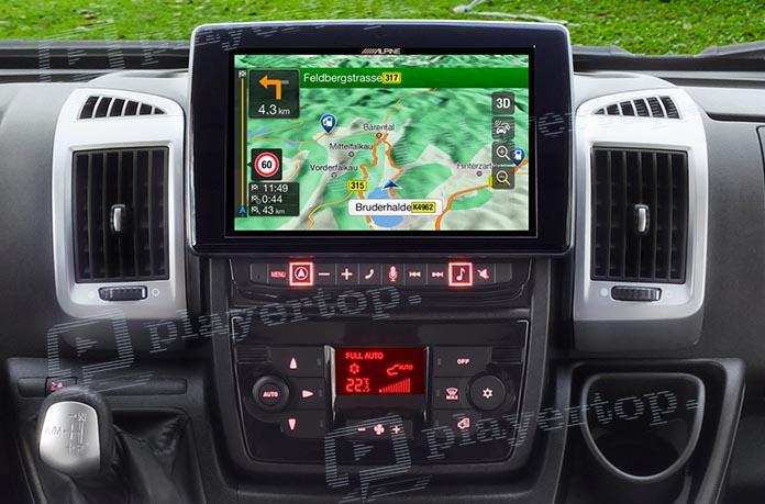 test de l autoradio gps alpine x902d du player top