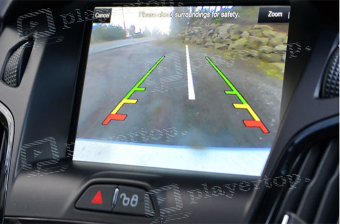 autoradio double DIN camera de recul