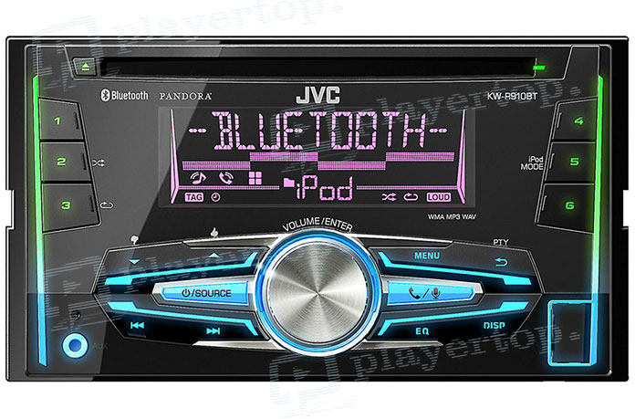 Autoradio 2 DIN Bluetooth