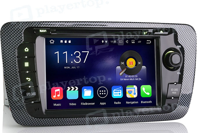 Autoradio Bluetooth compatible Android-1