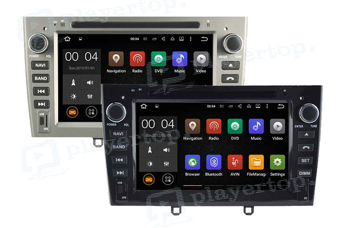 Autoradio Bluetooth compatible Android-3