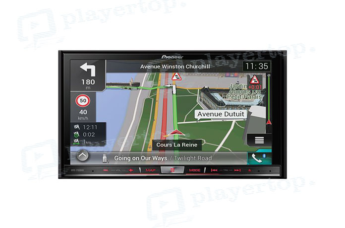 Autoradio GPS Bluetooth-1