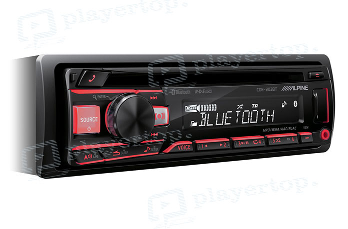 Autoradio USB CD Bluetooth-1