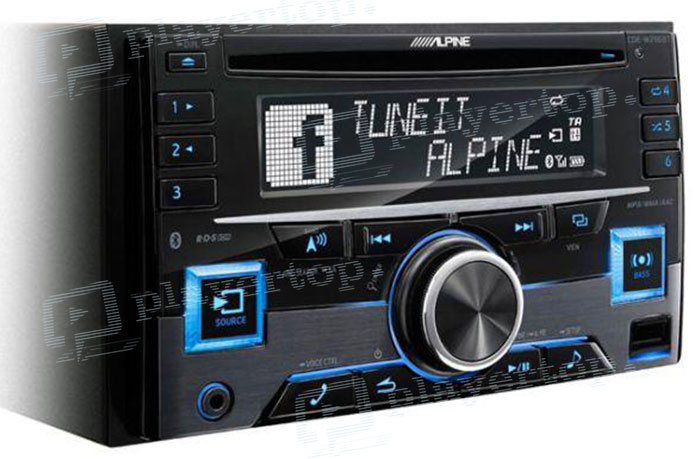 Autoradio USB CD Bluetooth-3
