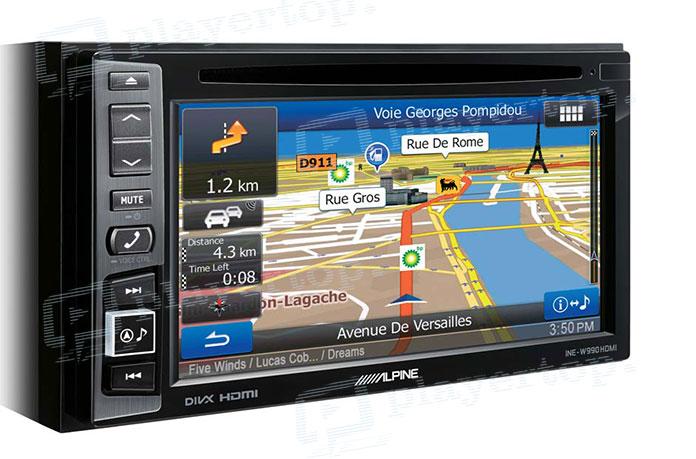 autoradio avec gps int gr une nouvelle technologie pour les voitures player top. Black Bedroom Furniture Sets. Home Design Ideas