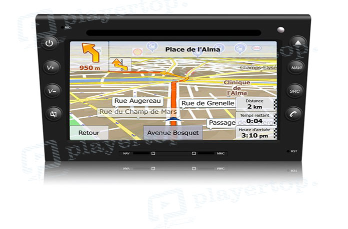 Autoradio gps avec carte europe