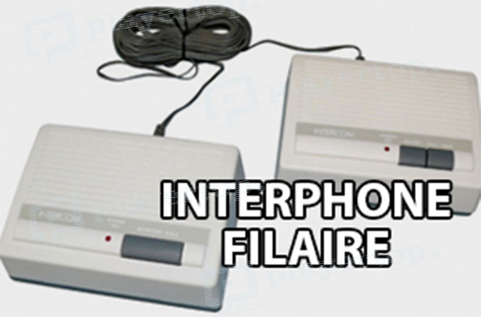 Interphone avec fil