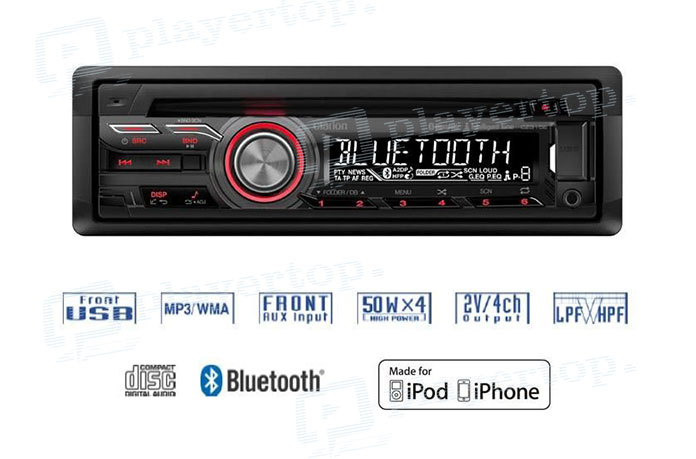 Radio CD MP3 Bluetooth-1