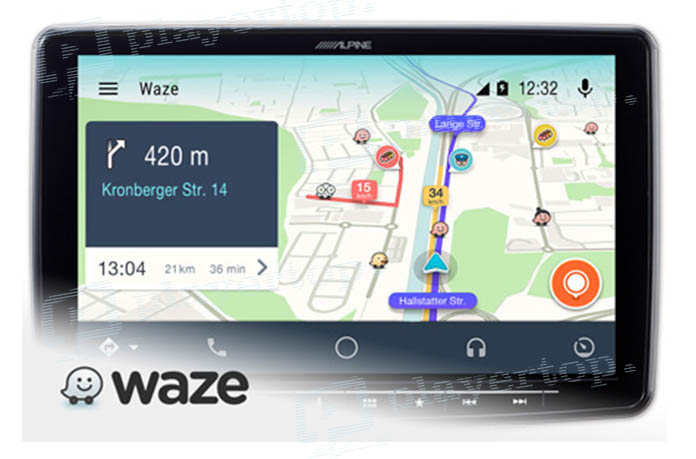 d finition de l autoradio avec waze player top. Black Bedroom Furniture Sets. Home Design Ideas