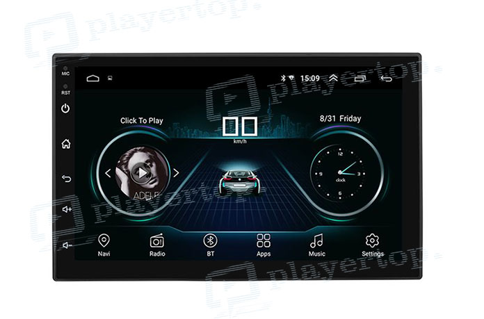 autoradio tactile android