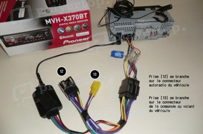 Connectez votre Volant de commande au volant les boutons Citro/ën C5/voiture st/ér/éo adaptateur