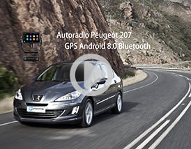 Video Autoradio Peugeot 207 Android Chez Player Top