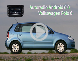 Video Autoradio VW Polo 6 Android GPS Chez Player Top