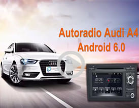 Video Autoradio GPS Audi A4 Player Top