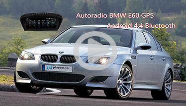 Autoradio BMW E60 GPS Android