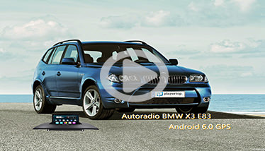 Video Autoradio BMW X3 E83 Chez Player Top