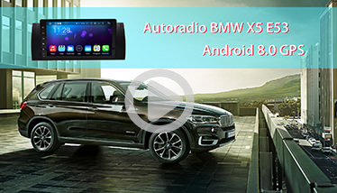 Video Autoradio BMW x5 E53 GPS Chez Player Top