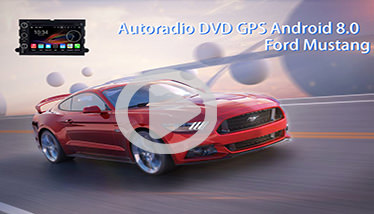 Video Autoradio GPS Ford Mustang Chez Player Top
