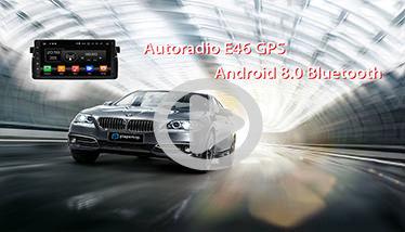 Video Autoradio E46 GPS Android Chez Player Top