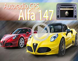 Autoradio GPS Alfa 147