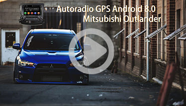 Video Autoradio Mitsubishi Outlander GPS Chez Player Top