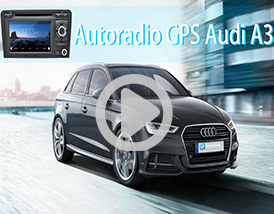 Video Autoradio GPS Audi A3 Player Top