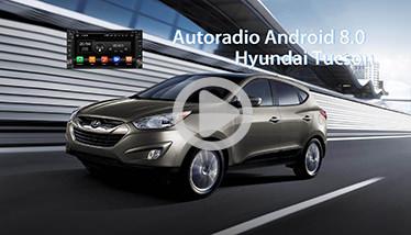 Video Autoradio Hyundai Tucson GPS Chez Player Top