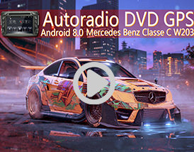 Utilisation: Autoradio Android Mercedes Classe c Player-top.fr