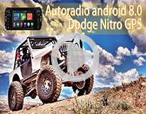 Video Autoradio Android 8.0 Dodge Nitro Chez Player Top