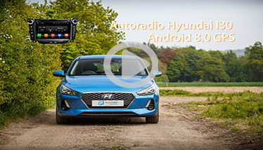 Video Autoradio Hyundai I30 GPS Chez Player Top