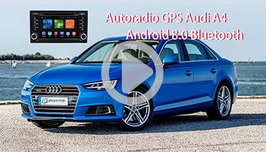 Video Autoradio GPS Audi A4 Chez Player Top
