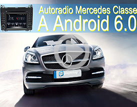 Utilisation: Autoradio Android Mercedes Classe A avec GPS Player-top.fr