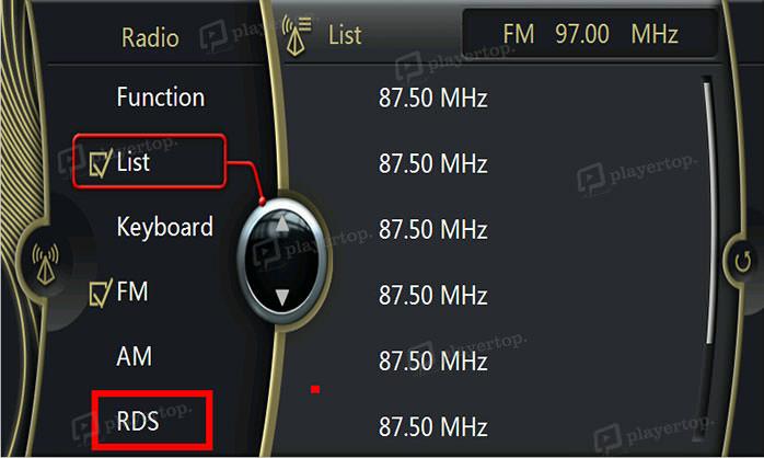 Activation de la fonction RDS sur BMW X1