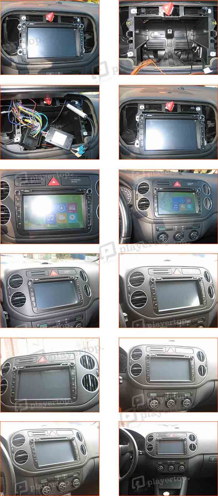 installation autoradio volkswagen golf plus 2009